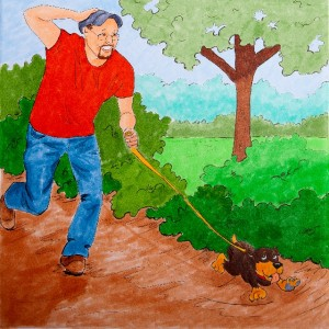 Taking Don for a Walk, Puppy Scents, The Kids' Guide to Puppy Care, pg.40