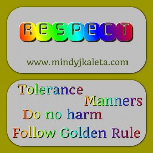 Respect Six Pillars of Character