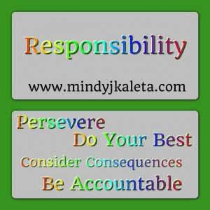 Responsibility Six Pillars of Character